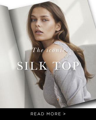 Rosemunde the iconic silk top