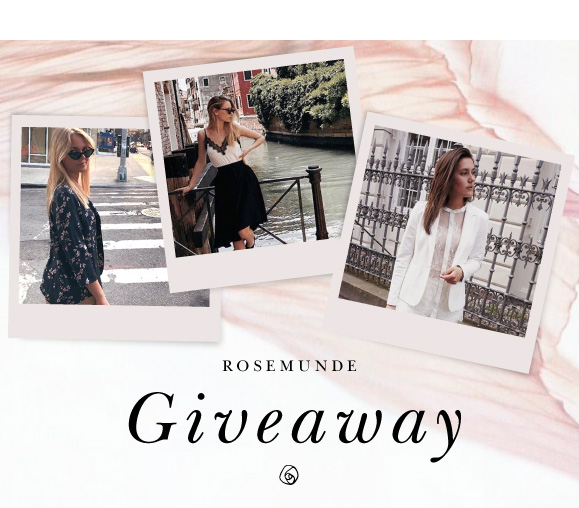 Rosemunde Giveaway - You now have the chance to win a Gift Card  with a value of 4.000 DKK / 535 €
