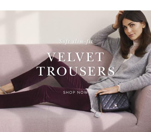 Rosemunde velvet trousers