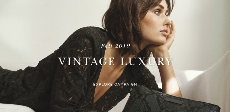 Fall 2019 Vintage Luxury - Explore campaign