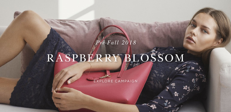 Pre-Fall 2018 Raspberry Blossom - Explore campaign