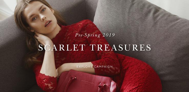 Pre-Spring 2019 Scarlet Treasures - Explore campaign