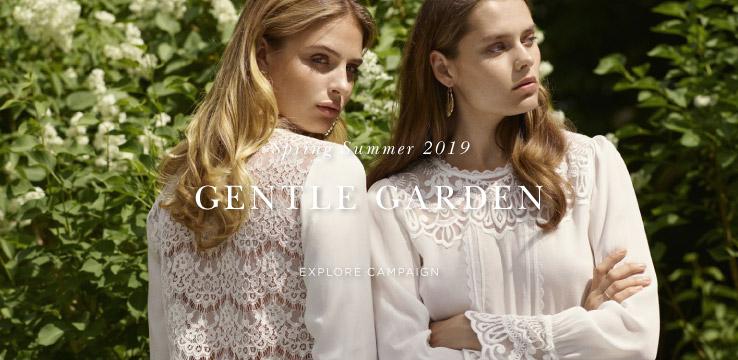 Spring Summer 2019 Gentle Garden - Explore campaign