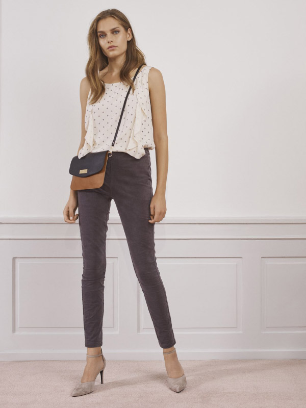 The best wardrobe basic - our classic soft velvet trousers