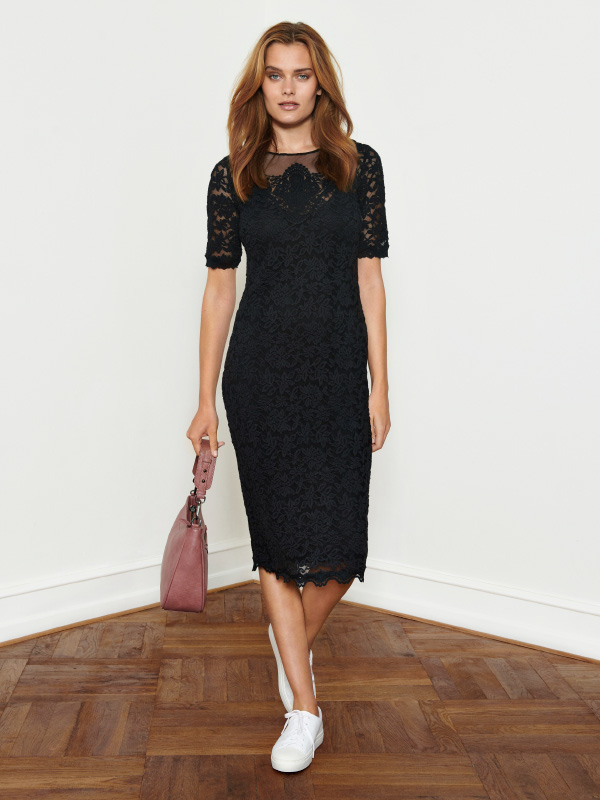 Look amazing in our fabulous full lace dress that can easily go from day to night