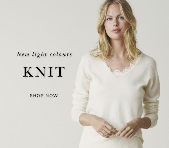 Rosemunde Knit Blouse and cardigan