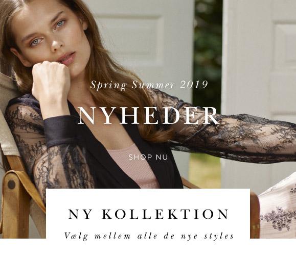 Rosemunde toppe ny kollektion bluser silke og blondetoppe cardigans kjoler