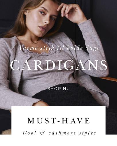 Rosemunde cashmere uld cardigans bluser