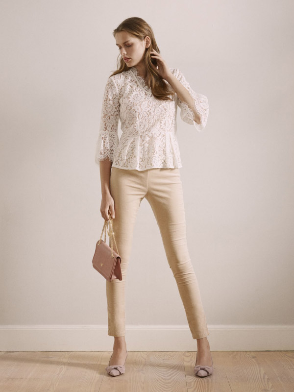 Elevate your everyday look with this beautiful full lace blouse