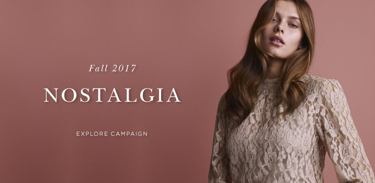 Fall 2017 Nostalgia - Explore campaign