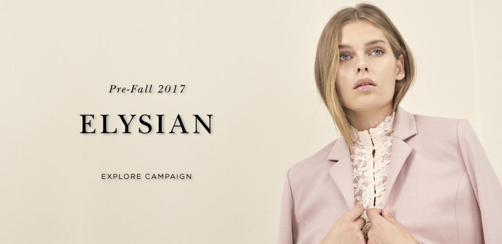 Pre-Fall 2017 Elysian - Explore campaign
