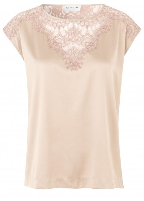 Rosemunde blouse with lace