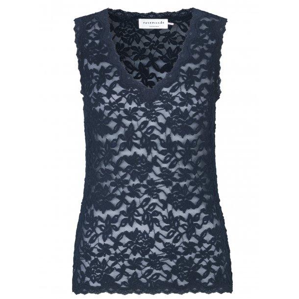 3b94bd3bba5e0e Rosemunde lace top with V-neckline - WOMEN - Rosemunde ApS