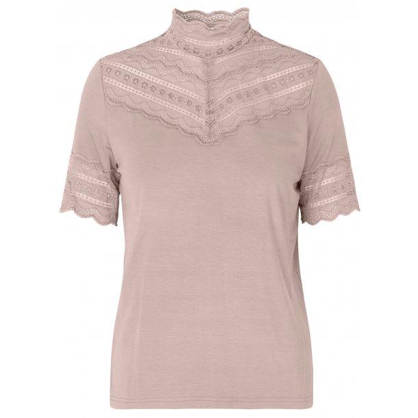 272b8cb8 Rosemunde t-shirt med blonder - T-SHIRTS - Rosemunde ApS