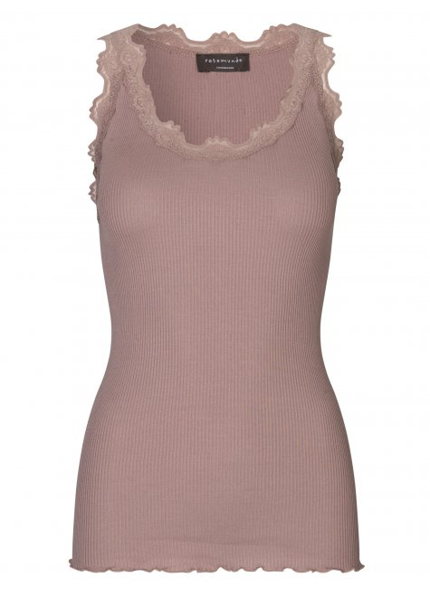 Online Exclusive silk top, warm sand