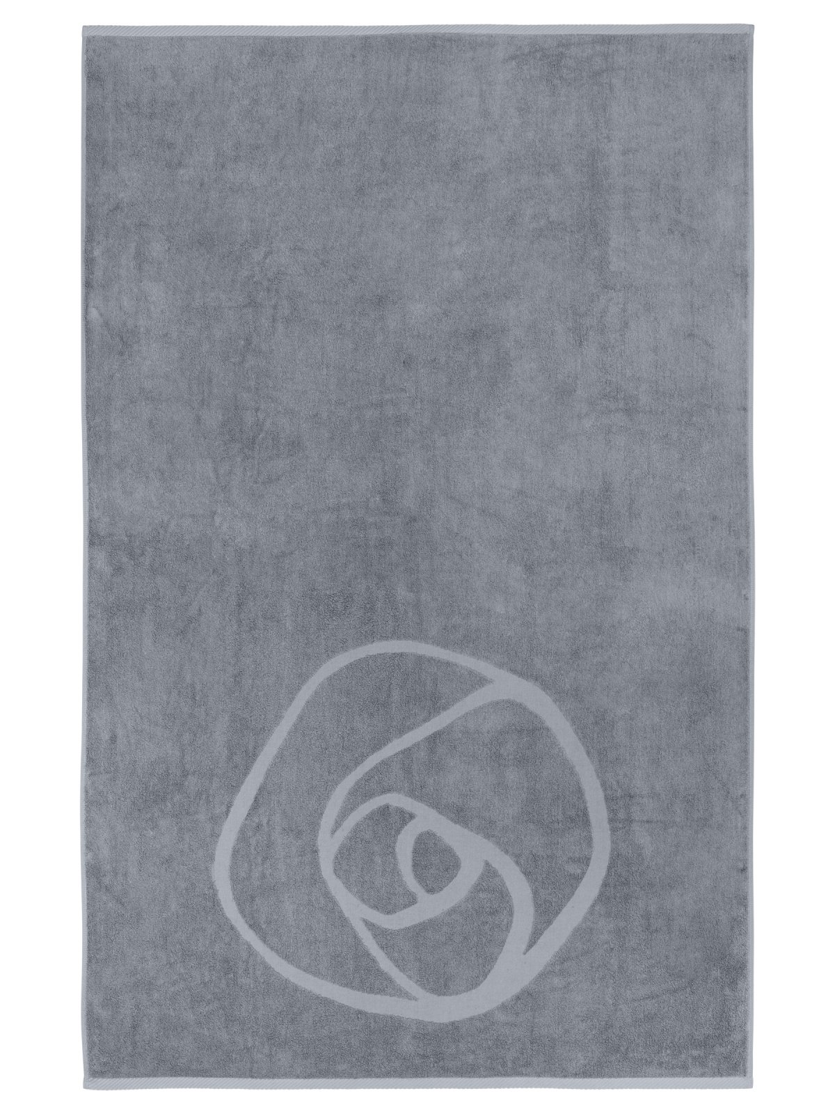 Towel 160 X 100 Cm Charcoal Grey Home Collection Rosemunde Copenhagen