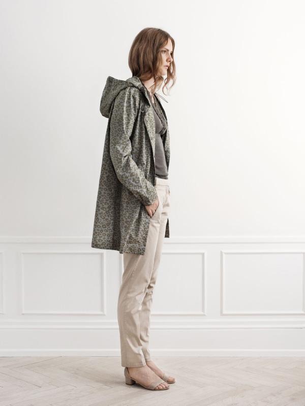Fashionable rainwear offering new prints