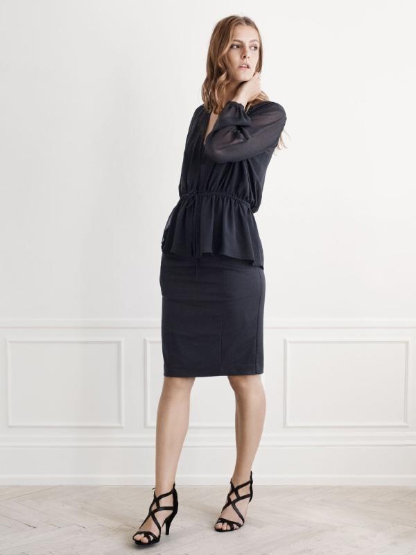 Sophisticated black for an elegant look