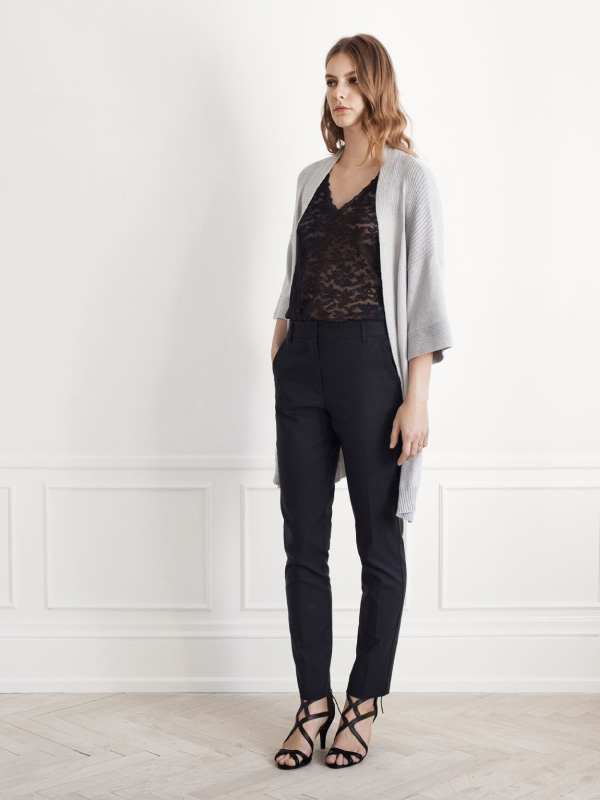 Delicate lace adds a luxurious touch to any styling