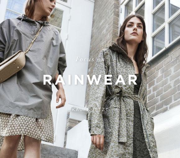 Focus on rainwear