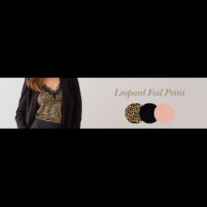 Leopard Foil Print