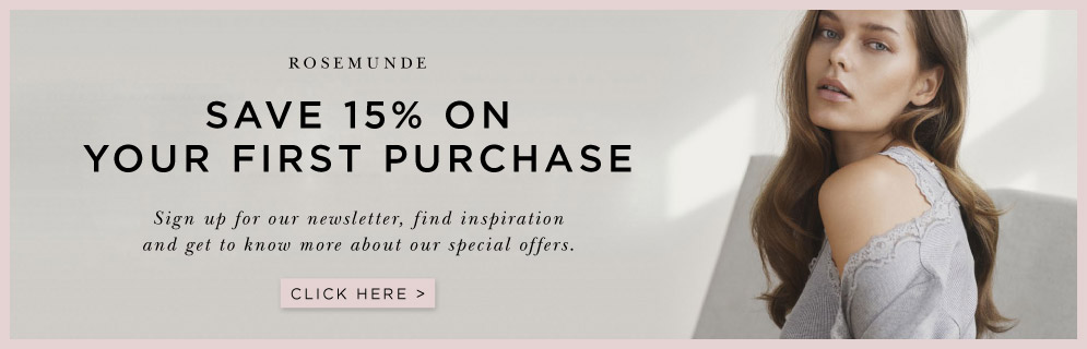 Save discount on clothes from Rosemunde